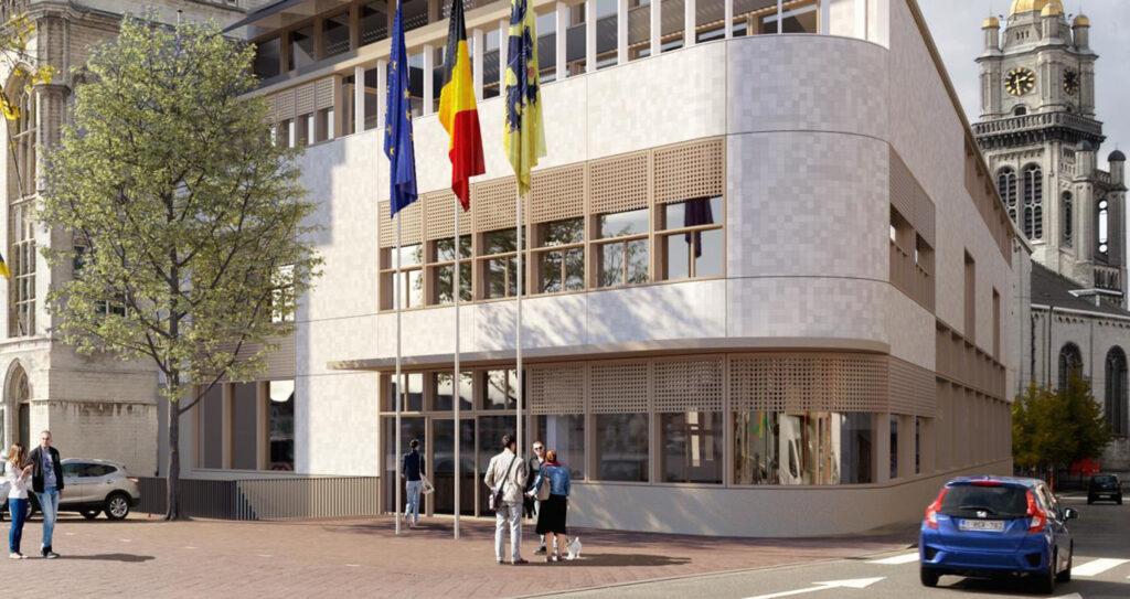 Vleugel Stadhuis Sint Niklaas