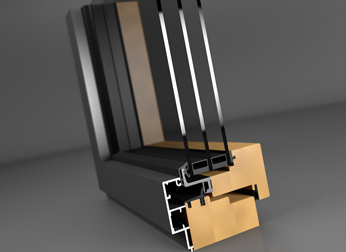 Nieuwe ontwikkelingen! Hout-Aluminium kozijn