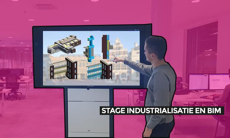 Stage Industrialisatie en BIM