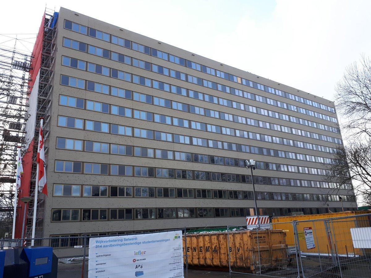 Montage Duindoornflat Groningen