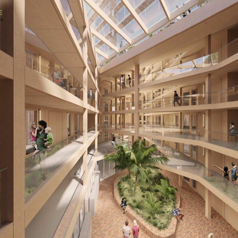 Een nieuw duurzaam project… Fibonacci Amsterdam