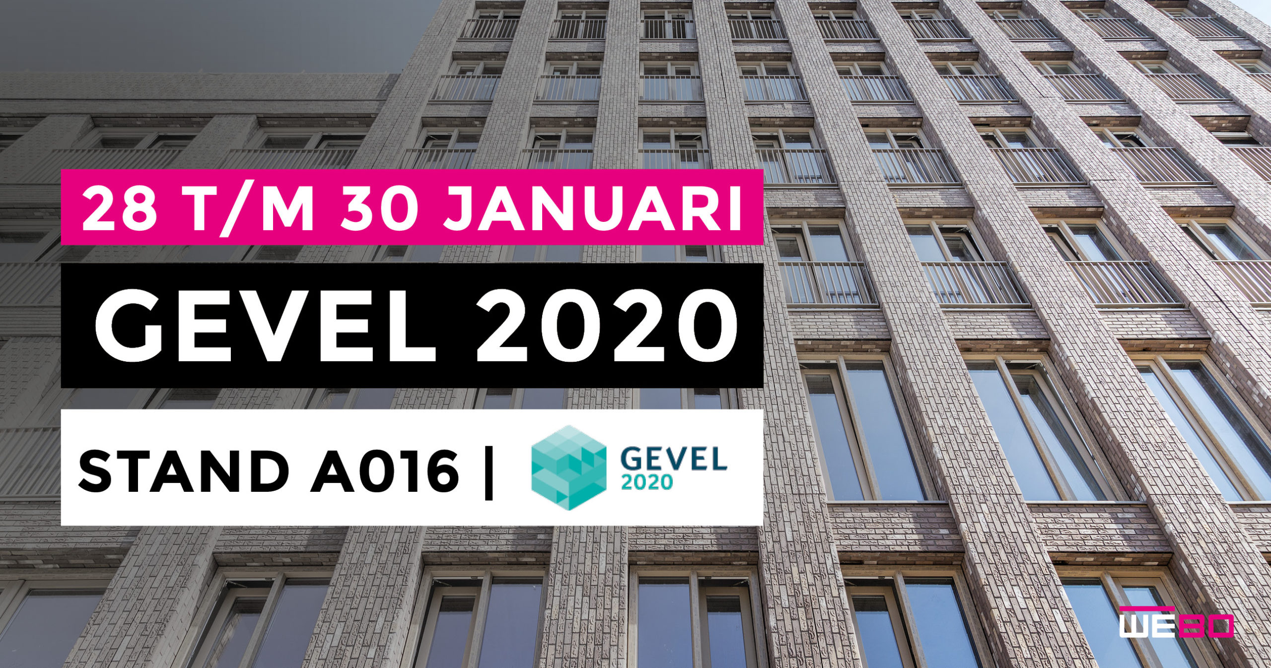 WEBO op GEVEL 2020