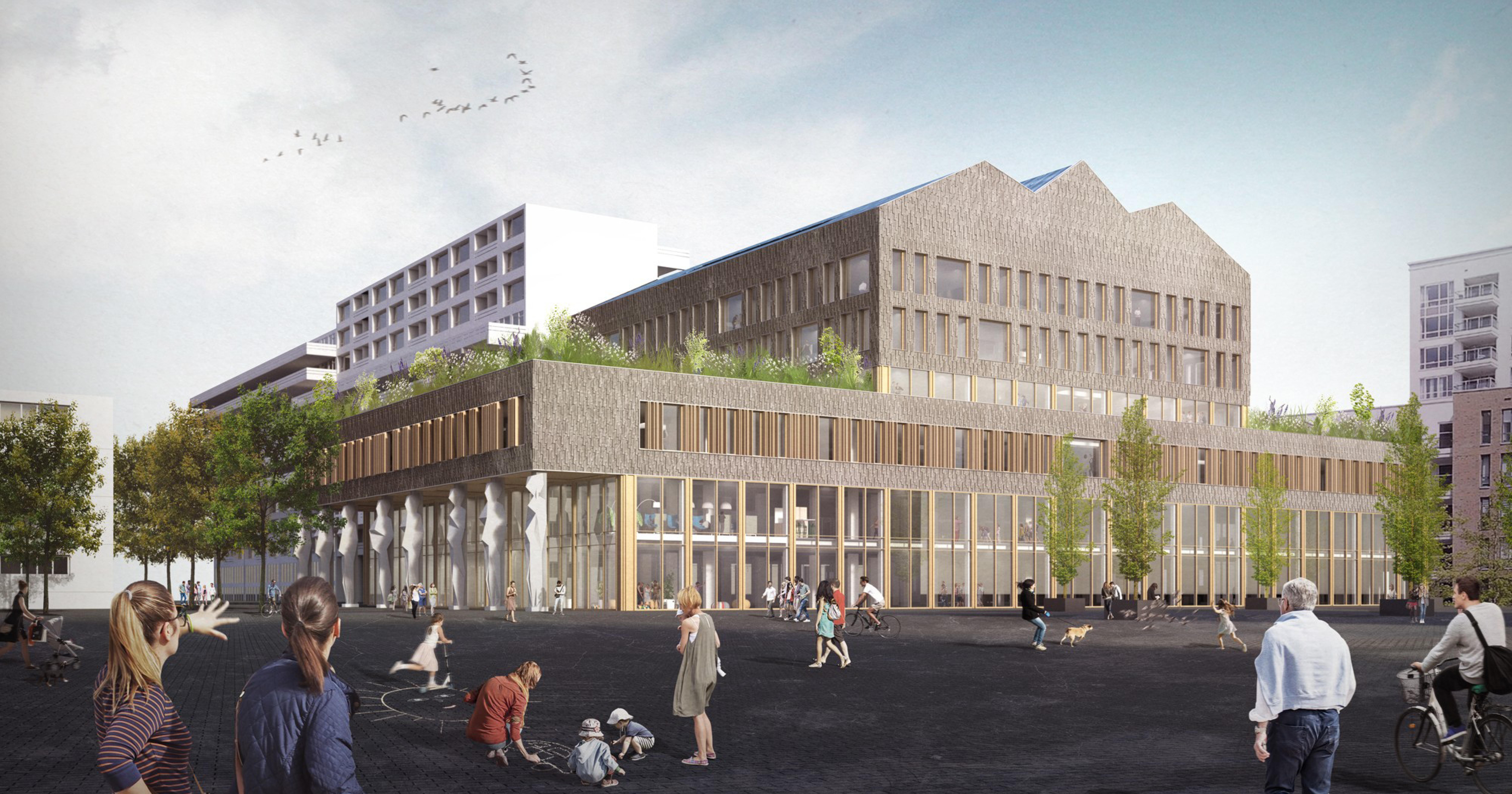 Stadswinkel Tilburg transformeert met prefab HSB-elementen