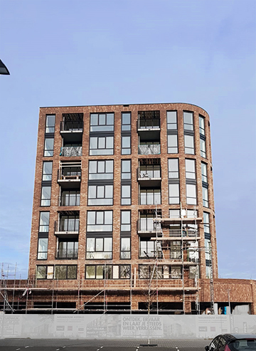 HSB-elementen 51 appartementen Rotterdam Asterlo